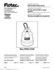 flotec fpsc1725x manuals rh manualslib com