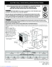 frigidaire feb24s2ab 24 electric wall oven manuals rh manualslib com frigidaire wall oven replacement parts frigidaire gallery wall oven manual