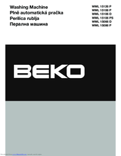 beko wml 15106 e manual