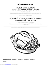 Kitchenaid Kebk101 Manuals