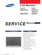 samsung syncmaster 400pn service manual repair guide