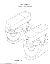 Kenwood Major KM040 series Instructions Manual
