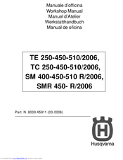 Husqvarna SMR 450-R Workshop Manual