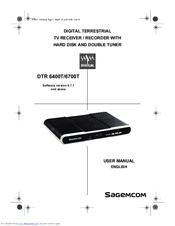 Sagemcom DTR 6700T Manuals