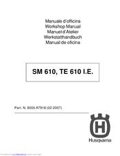 husqvarna sm 610 workshop manual pdf download rh manualslib com Husqvarna SMS 630 2007 husqvarna sm 610 service manual