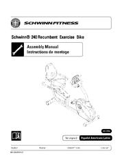 schwinn 240 manuals rh manualslib com Schwinn 202 Recumbent Exercise Bike Schwinn 240 Recumbent Bike Sears