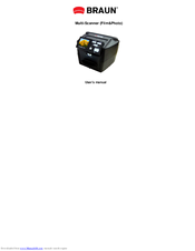 Braun Novoscan 3in1 User Manual Pdf Download