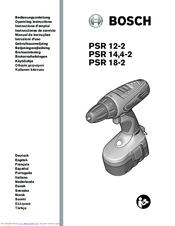 bosch psr 14 4 2 manuals rh manualslib com bosch multi tool manual bosch garden tools manuals