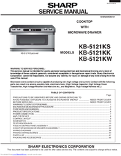 Sharp KB5121KK - 30