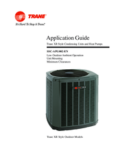 trane xr15 application manual