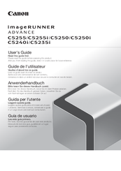 Canon imageRUNNER ADVANCE C5255 User Manual