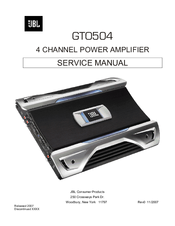 jbl gto504 service manual pdf download rh manualslib com
