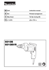Makita 6010B Instruction Manual