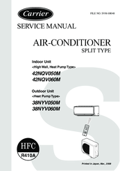 carrier 42nqv060m manuals rh manualslib com carrier air conditioner owner's manual Sanyo Air Conditioners Brand
