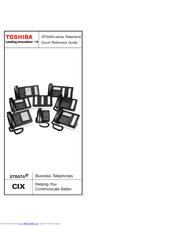 toshiba strata cix dp 5000 series manuals rh manualslib com toshiba strata cix dp5000 telephone manual toshiba strata cix programming manual