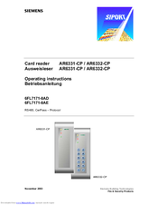 Siemens 6FL7171-8AE Operating Instructions Manual