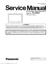 panasonic tc p50x1 manuals rh manualslib com tc-p50x1 service manual tc-p50s1 manual