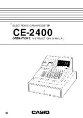 Casio ce-2400 manuals.