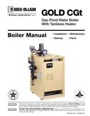 Weil-mclain GOLD CGt SERIES Manuals
