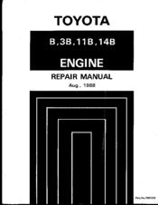 toyota 3b repair manual pdf download rh manualslib com 13B Motor Toyota Land Cruiser with T Toyota 3B Diesel Turbo