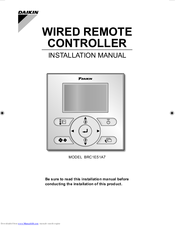 Daikin Remote Control Manual - #GolfClub
