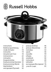 russell hobbs 19790 56 manuals rh manualslib com hinari slow cooker instruction manual bella slow cooker instruction manual