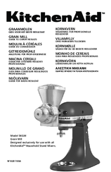 KitchenAid 5KGM Manual