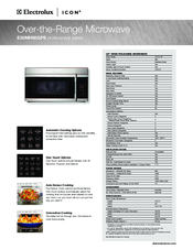 electrolux e30mh65gps icon microwave manuals rh manualslib com electrolux microwave user manual pdf electrolux microwave user manual