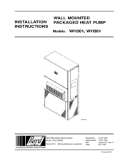 bard wh361 manuals bard wh361 installation instructions manual