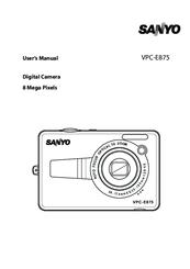 sanyo vpc e875 user manual pdf download rh manualslib com