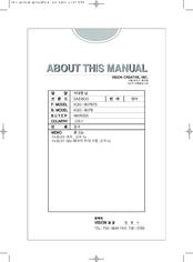 Daewoo Kqg 9gpb Manuals