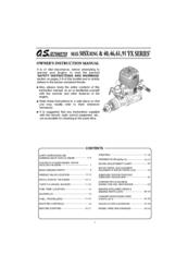 o s engine max 46fx manuals rh manualslib com os max 32f engine manual os 91 fs engine manual