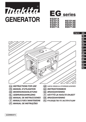Makita EG601AE Instructions For Use Manual