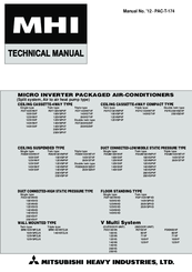 Mitsubishi Electric FDT125VNVF Technical Manual