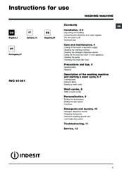 indesit iwc 61051 manuals rh manualslib com indesit iwc 61051 manuale italiano indesit iwc 61051 eco manual