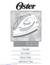 Oster 5703 Instruction Manual