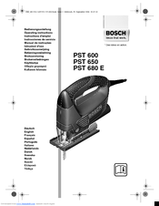Bosch PST 680 E Operating Instructions Manual