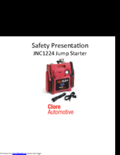 Jump n Carry JNC1224 Safety Manual