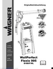 wagner wallperfect flexio 995 manuals rh manualslib com Twin Stroke Wagner 9145 Airless Paint Sprayer