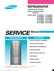 samsung rf195abrs service manual pdf downloadSamsung Rf197acrs Refrigerator Wiring Diagrams #10