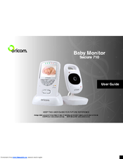 oricom secure 710 user manual pdf download rh manualslib com oricom baby monitor 850 user manual Oricom Cordless Phone
