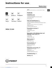 indesit xwda 751480 manuals rh manualslib com indesit user manual washing machine indesit user manual oven