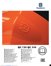 Husqvarna QC 120 Operator's Manual