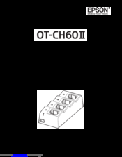 Epson OT-CH60II User Manual