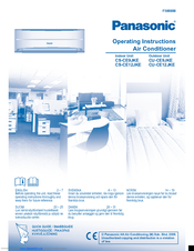 Panasonic CU-CE9JKE Operating Instructions Manual