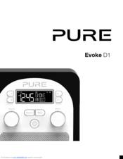 Pure evoke 2s luxury portable stereo dab/fm radio maple.