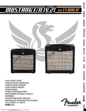 fender mustang ii v 2 manuals rh manualslib com Fender Mustang Amp Manual fender mustang ii v2 user manual