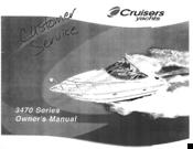 Cruisers Yachts 3470 Series Manuals