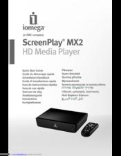 iomega screenplay mx2 manuals rh manualslib com MP3 Player Operating Instructions MP3 Player Operating Instructions
