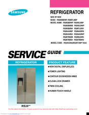 Samsung RS265BBWP Service Manual